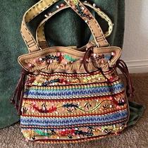 Lucky Brand Handbag With Embroidery Photo