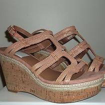 Lucky Brand Keena Wedge Sandal - Rose/gold Size 10m/40 Photo