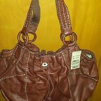 Lucky Brand Leather Handbag Photo