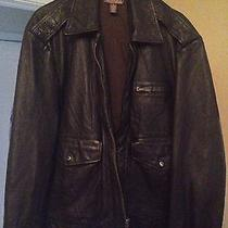 Lucky Brand Leather Jacket Photo