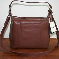 Lucky Brand Lena Hobo Brandy Leather Purse Photo
