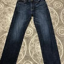 Lucky Brand Men's 34x32 329 Classic Fit Jeans Blue Stretch Denim Photo