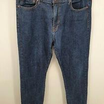 Lucky Brand Men's 410 Athletic Fit Jeans Size 38 X 32 Dark Blue Palos Verdes  Photo