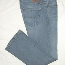 Lucky Brand   Mens  427 Athletic Boot  Blue Jeans  Sz 34/36 X 32  Excellent Photo