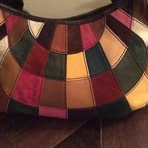 Lucky Brand Patchwork Leather Handbag Photo