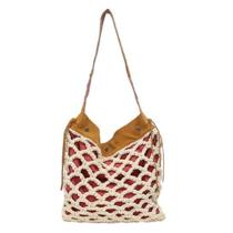 Lucky Brand Riviera Hobo Natural/saddle Lb1761-Fanas Photo