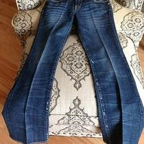 Lucky Brand Sister Sweet N Low Womens Jeans 0/25 Slightly Distressed Boot Cut Photo