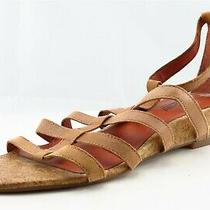 Lucky Brand Size 9.5 M Brown Gladiator Leather Women Sandal Shoes  Photo