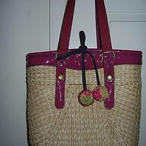 Lucky Brand Straw  Unique Summer Handbag  Photo