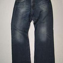 Lucky Brand Usa Made Fender Wide Leg Mens 33 X 32 Reg Length Jeans 71xua31 Photo