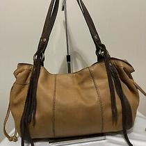 Lucky Brand Vintage Inspired  Leather Hobo Shoulder Bag Purse Handbag Photo