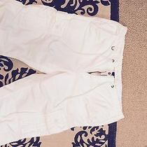 Lucky Brand White Capris Photo