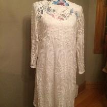 Lucky Brand White Dress Size Large Photo