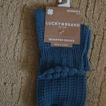 Lucky Brand Women's Ankle Socks Nwt Fits Size 9-11 Photo