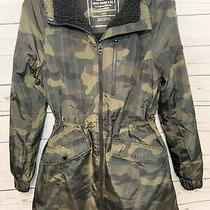 Lucky Brand Women's Anorak Camo Hooded Jacket Nwt Size Small Photo
