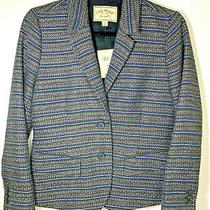 Lucky Brand Women's Sz 4 Blazer Jacket Fully Lined With 2 Button Closure New  Photo