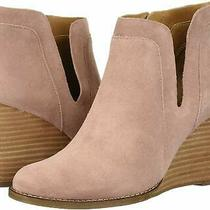 Lucky Brand Womens Yabba Leather Closed Toe Ankle Fashion Boots Blush Size 5.5 Photo