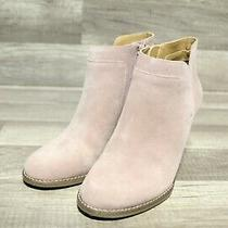 Lucky Brand Yabba Blush Portogallo Women's Wedge Boots Sz 8.5m E2-184 Photo
