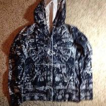 Lucky Brand  Zipper Up Hoodie Hooded Sweatshirt Jacket Womens Medium Ked Photo