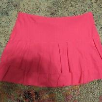 Lucky in Love Women's Coral Blush Tennis Skirt/skort-Size Large (12) Photo