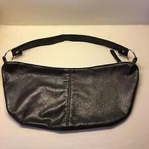 Lucky Magazine Medium Black 100% Vinyl Hobo Shoulder Handbag Purse Photo
