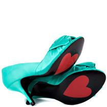 Luichiny Aqua Heels Size 8 Photo