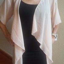 Lularoe Fringe Monroe Stunning Blush Color Black Fringe. Price Reduced Photo