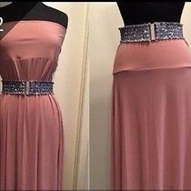 Lularoe Maxi Skirt or Dress Large Blush Pink - Beautiful - Unicorn Photo