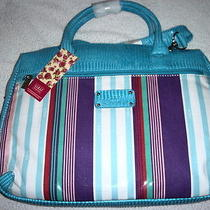 Lulu Australia Laptop Bag Handbag Super Stripe Brand New Bag Photo