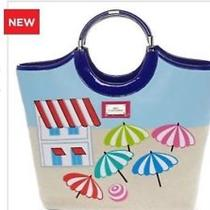 Lulu by Lulu Guinness Beach Umbrella Large Ring Tote Photo