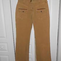 Lulu Castagnette Mustard Gold Grunge Pants Photo