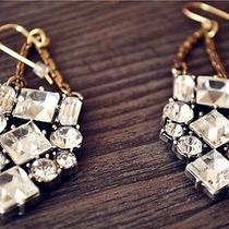 Lulu Frost for Whistles Crystal Earrings-Kates Favorate-Discount Photo