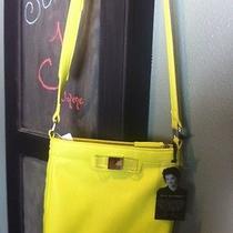 Lulu  Guinness  Crossbody Shoulder Bag Cell  Handbag Tote Purse Nwt Photo