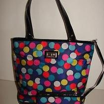 Lulu Guinness Handbag Black/blue 11