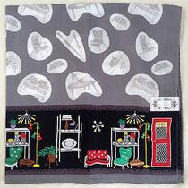 Lulu Guinness Handkerchief  Furniture Motif  Japan Exclusive Photo