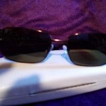 Lulu Guinness L517 Brown Lg Shades Sunglasses New W/case Polarized Brown Lenses Photo