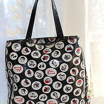 Lulu Guinness  Large Tote Bag Shopper Purse Photo