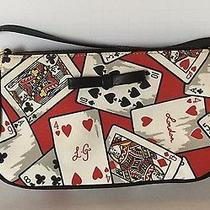 Lulu Guinness Playing Cards Bag Baguette Purse Photo