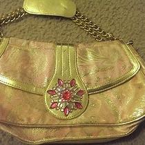 Lulu Handbag Gold Pink  Photo