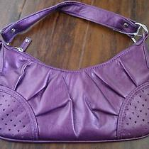Lulu New York Iridescent Purple Shoulder Bag Purse Sold Out Super Cute Photo
