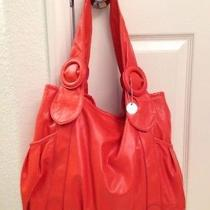 Lulu Orange Hobo Shoulder Bag Photo