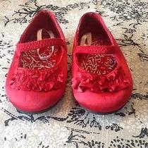 Lulu Red Dress Shoes Size 3 Photo