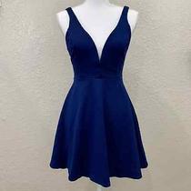Lulu's Blue Love Galore Skater Dress Size S Euc Photo
