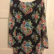 Lulu's Floral Dress Xl Brand New Photo
