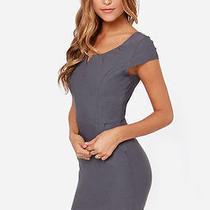 Lulu's Grey Work Dress  Photo