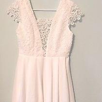 Lulu's Lavish in Lace White Dress Sz Small Photo