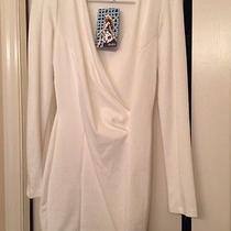 Lulu's Long Sleeve White Dress-Sz M Photo