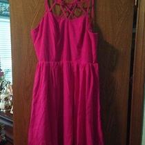 Lulu's Medium Hot Pink Dress Photo