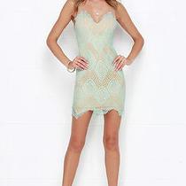 Lulu's Mint Lace Dress Photo