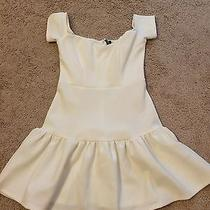 Lulu's White Dress Size S Photo